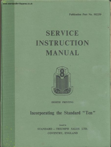 Standard 8 and 10 workshop manual sciox Images